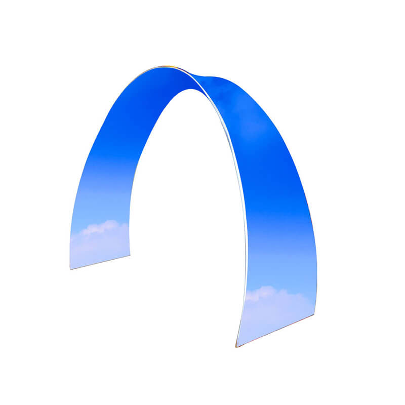 Arch Fabric  Display Stand